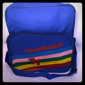Vintage Rainbow Trafalgar Shoulder Travel Bag